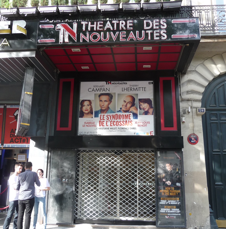 Restauration – Théâtre des Nouveautés – Paris France