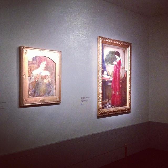 """Musée JACQUEMART-André - Exposition """"Désirs & Volupté à l'époque Victorienne"""" 2013-2014"""