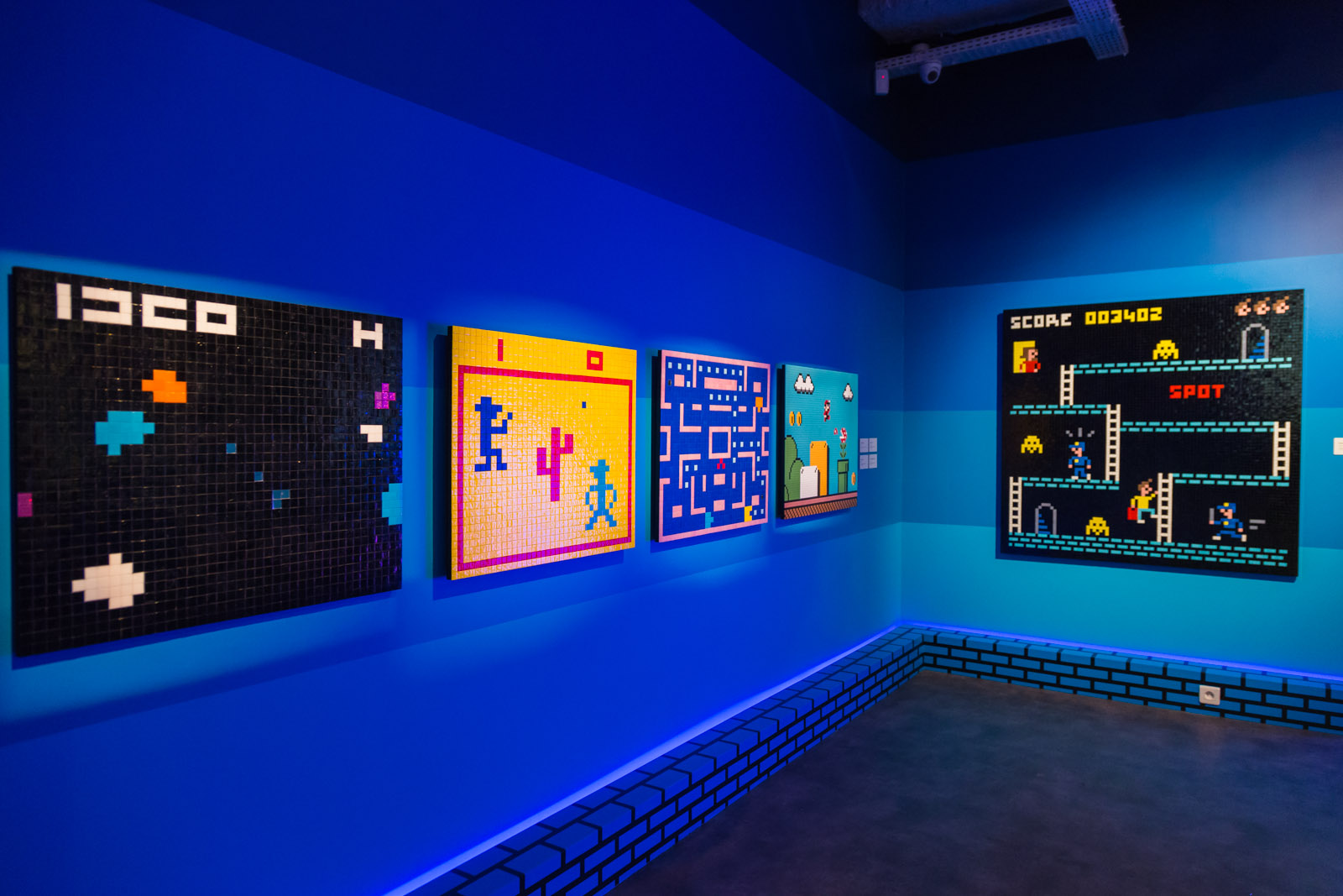 "Musée en Herbe - Exposition Invader ""Hello, my game is..."" du 26/01/2017 au 03/09/2017 - Paris"