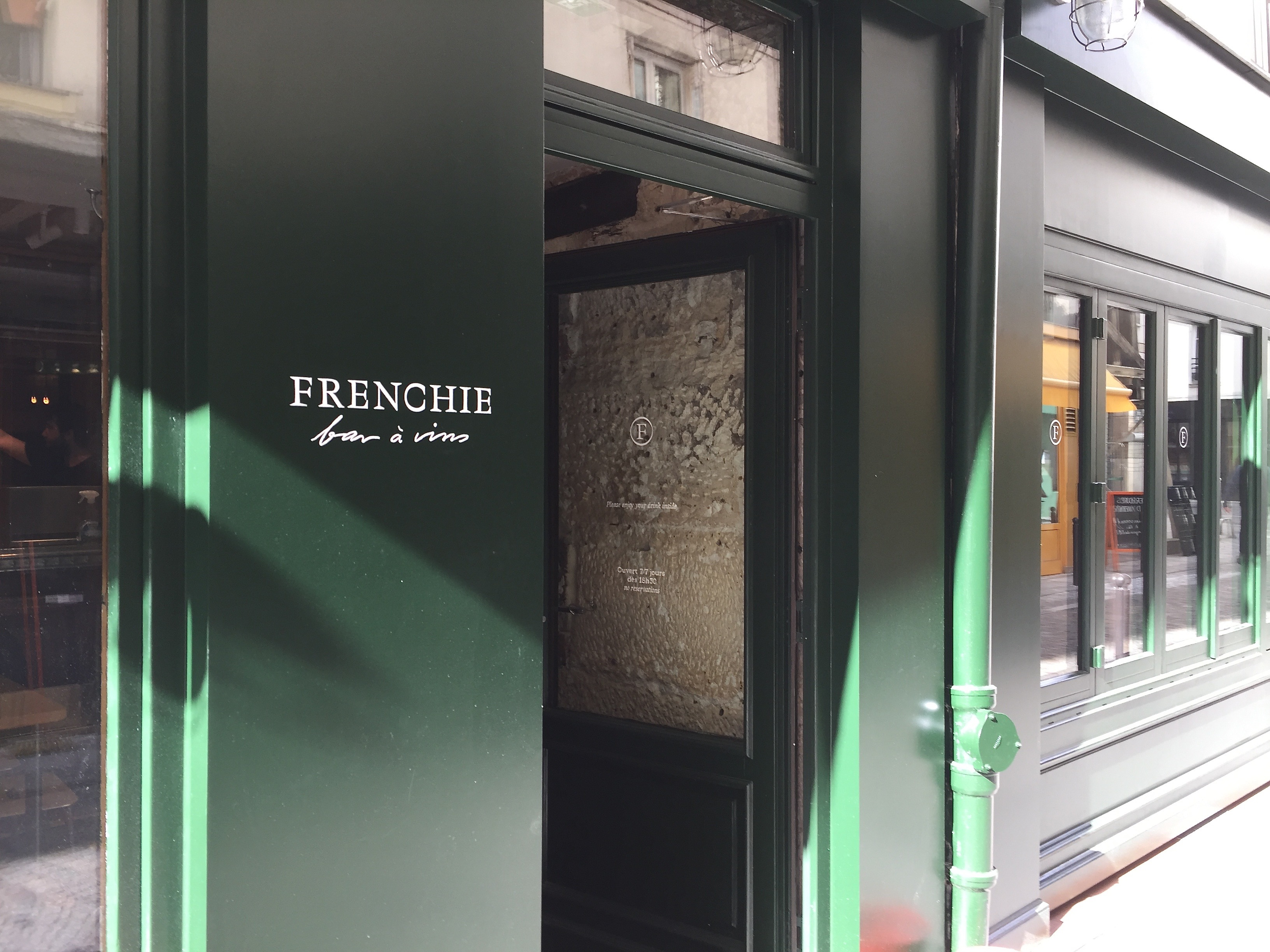 FRENCHIE Bar à Vins - Chef Grégory MARCHAND - Paris 2è