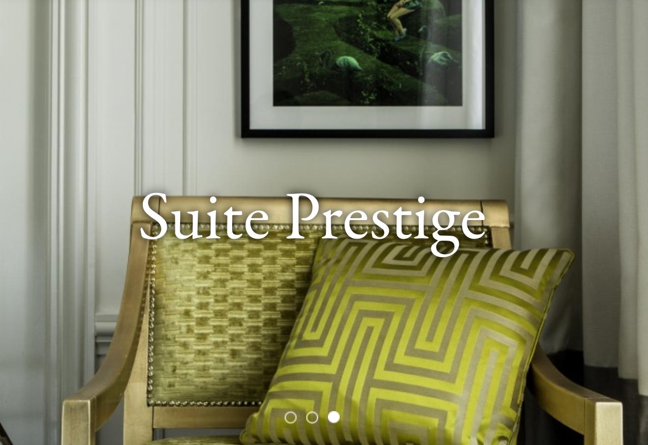MV DECOR - Rénovation des mobiliers des Suites Prestiges du SOFITEL PARIS LE FAUBOURG.